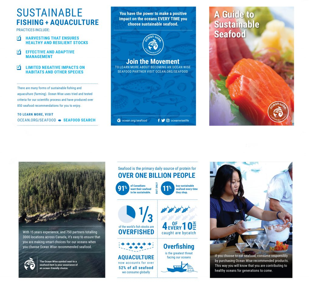 Click here to view the Ocean Wise seafood program master list, now!